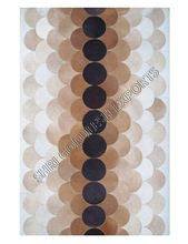 Natural Hide Patchwork Rugs
