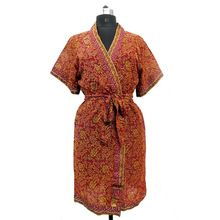 Women Wear Kimono Night Gown