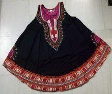 African Dashiki Ankara Umbrella Dress