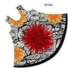 Flower Print Umbrella Dress