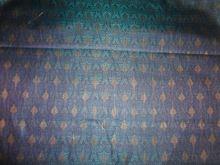 spun brocade fabric-multi colour