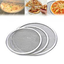 Stainless Steel Wire Mesh Pizza Tray