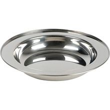 Stainless Steel Soup Dinner Plates