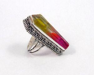 Jc7200-1 Hydro Carving Metal Ring