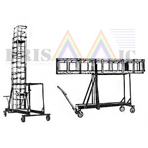 Telescopic Tiltable Tower Ladder