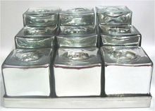 Mercury Glass T-light Holder