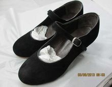 Ladies Fashionable Latin Leather Dancing Shoes