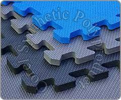 Rubber Inter Lock Tiles