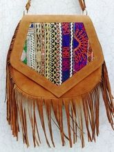 Fake Leather Fabric Patches BAG