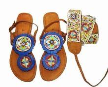 Handmade Traditional Leather Ladies Sandal