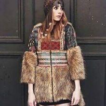 Long Woman Denim Jacket