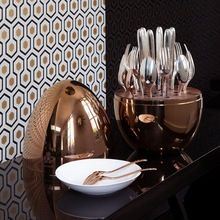 Egg Shaped Decorative Partyware Cutlery Holder
