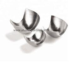 Aluminium Hammered Abstract Serving Bowl