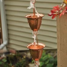 Copper Rain Chain Rain Chain