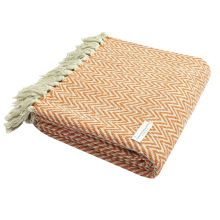 Cotton Knit Thick Throw