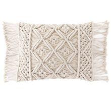Macrame Cushion Pillow Cushion