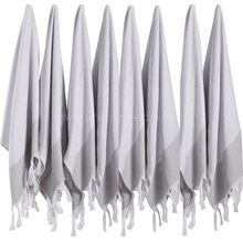 Simple Design Striped Beach Face Towel