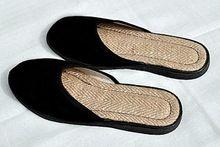 Closed Toe Silk Indoor Slippers