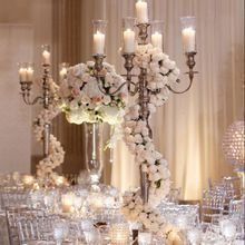 Silver Wedding Candelabra