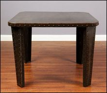 Ast Iron Metal Dining Table