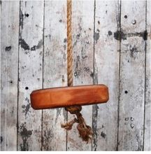Industrial Mango Wood Tree Swing