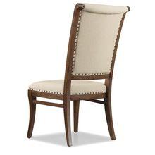 Wood Dining Chair Canvas Cushion