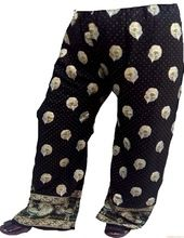 Harem Pants Gold Print Plazoo Women