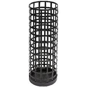 Black Powder Coating Metal Round Umbrella Stand