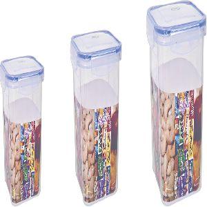 Transparent Plastic Food Container
