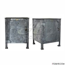 Industrial Nightstands Table