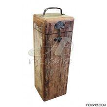Old Wooden Blanket Box