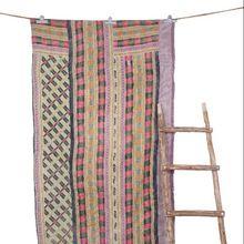 Bohemian Reversible Cotton Saree Quilt
