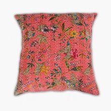 Cotton Kantha Cushion