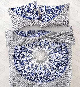 Duvet Cover With Zipper Cotton Blanket Cover