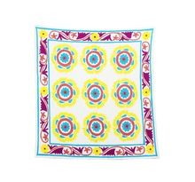 Hand knotted ethnic Wall hanging Table Cover