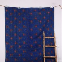 Purple Handmade Kantha Quilt