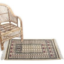 Silk and Wool Area Rug and Carpet