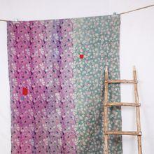 Vintage Reversible Handmade Quilt