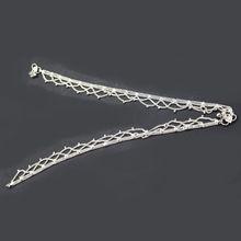 Silver Plated Designer Brass Made Anklet