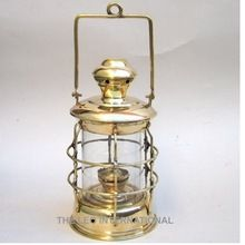 Brass Nautical Oil Lamp