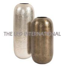 New Design Capsule Style Metal Flower Vase