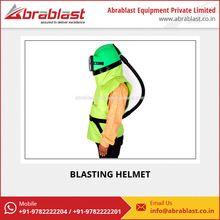 Hdpe Material Sand Blasting Helmet