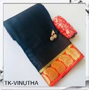 Tk-vinutha Crepe Silk Saree