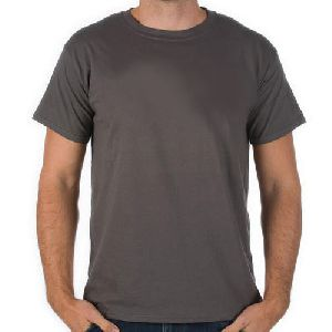 Mens Plain Grey T-shirts