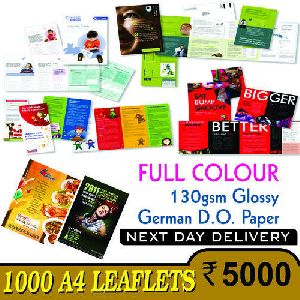 Leaflets and Flyers Printing Services