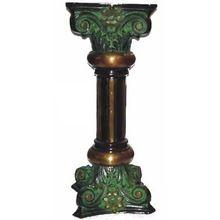 Brass Side Stool Corner Stand