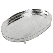 Stainless Steel Silver Plated Tray
