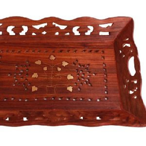 Wooden Snack Tea Coffee Serving Tray