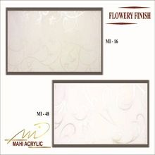Mahi Flower Finish Acrylic Laminated Sheet