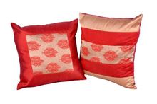 Brocate Cotton Cushion Cover